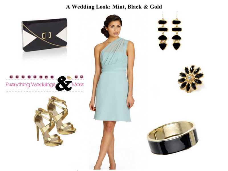 A Wedding Look: Click for more of these posts where we help you create the perfect look!