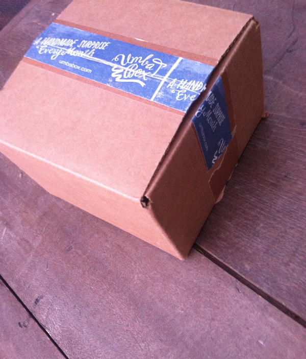 Umba Box Review - October 2012 - Monthly Indie Designer Subscription Boxes