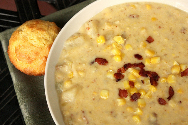 Slow Cooker Corn and Potato Chowder Ingredients: