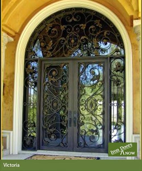 Charmant Victoria Iron Door