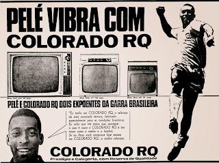 Pelé; 1971; os anos 70; propaganda na década de 70; Brazil in the 70s, história anos 70; Oswaldo Hernandez;