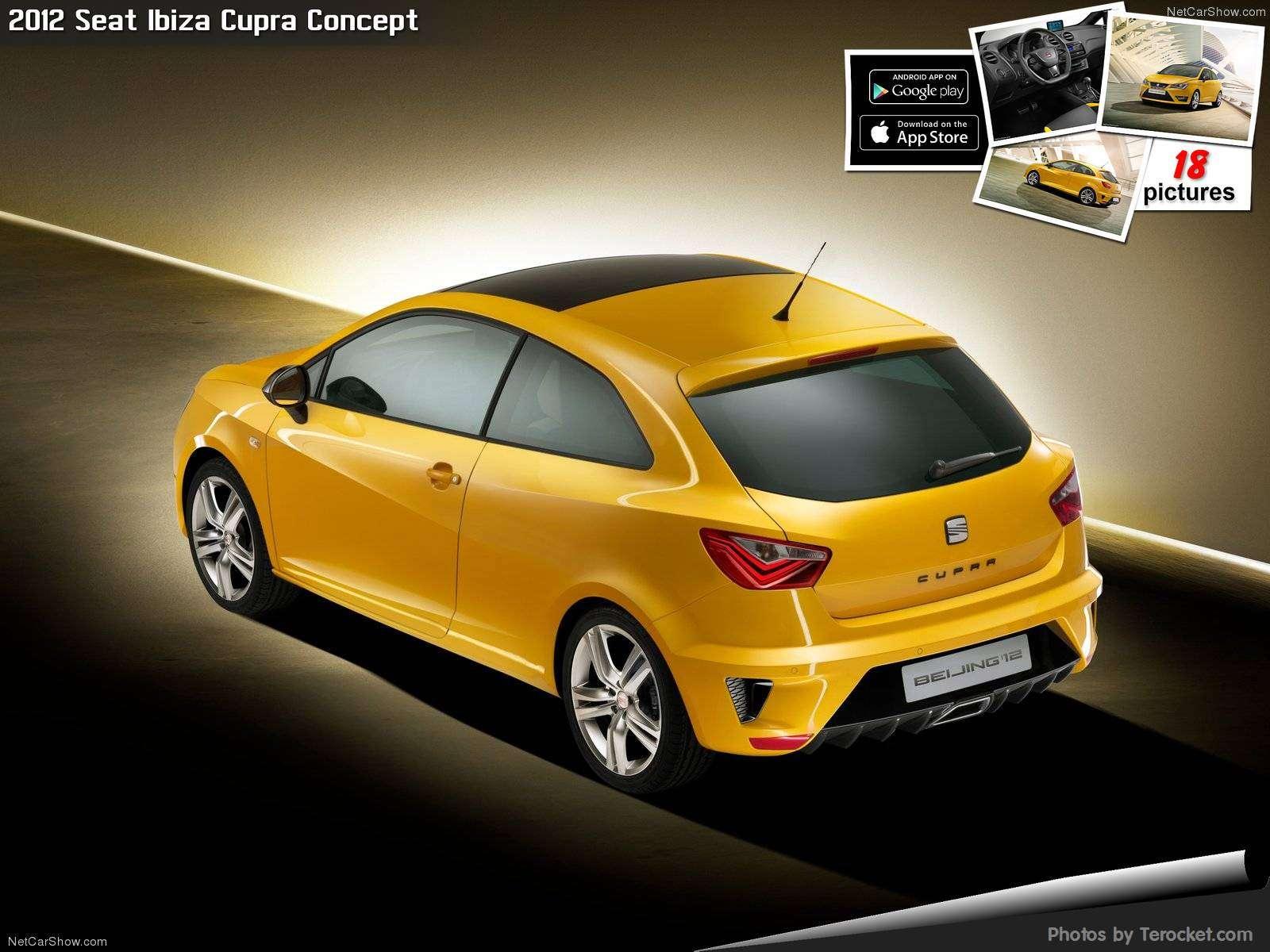 Hình ảnh xe ô tô Seat Ibiza Cupra Concept 2012 & nội ngoại thất