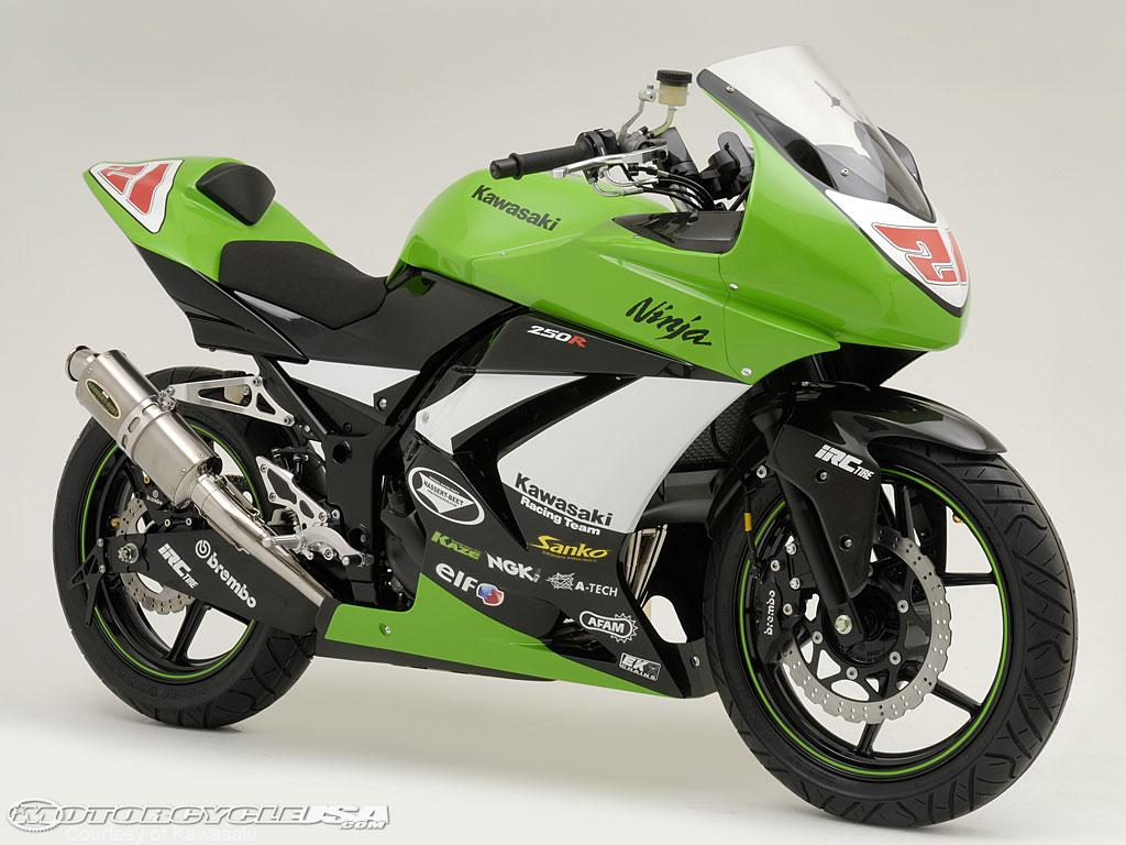 Berikut 10 Gambar Unik Kawasaki Ninja 250R Modifikasi yang dimaksud : title=
