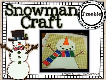 http://www.teacherspayteachers.com/Product/Snowman-Craft-Freebie-984326