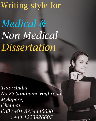 medical dissertation writing