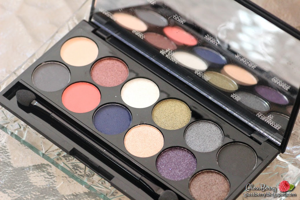 sleek giveaway palette showstoppers glossberry