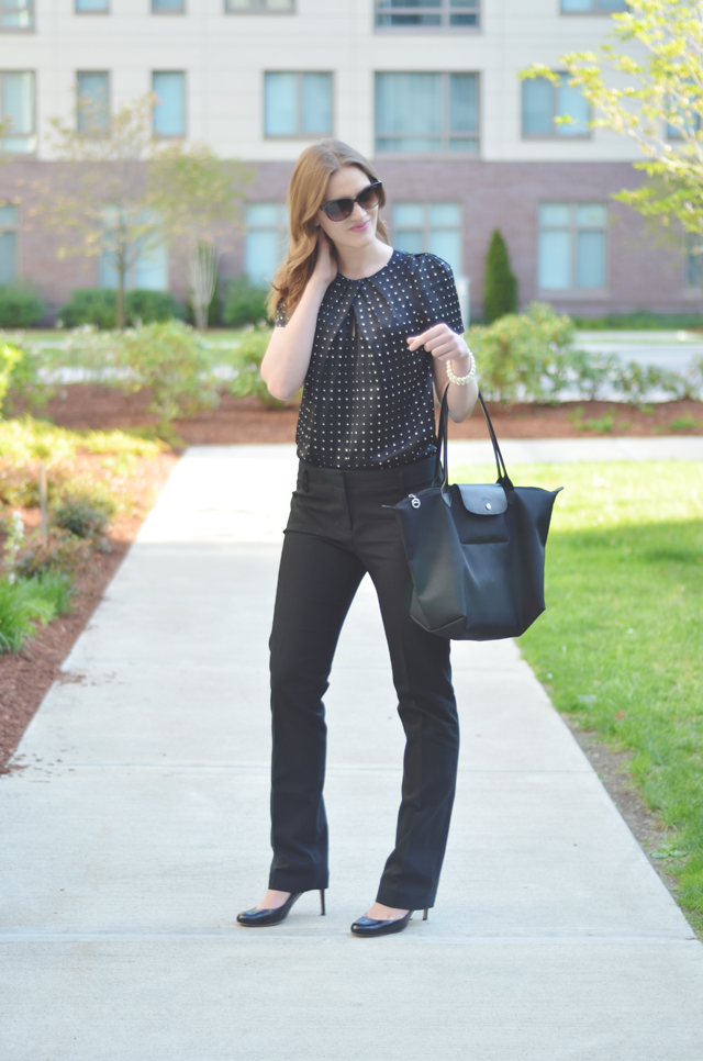 Ann Taylor Tall Compact Doubleweave Pants