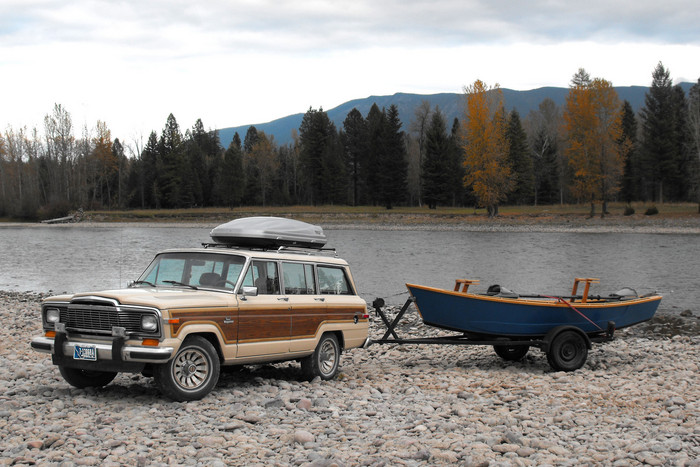 Montana pike fly fishing car shopping done and back to for Fly fishing jobs