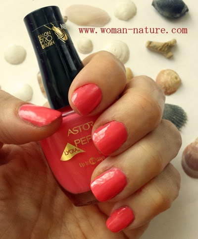 Astor Perfect Stay Gel Shine Creamy Coral