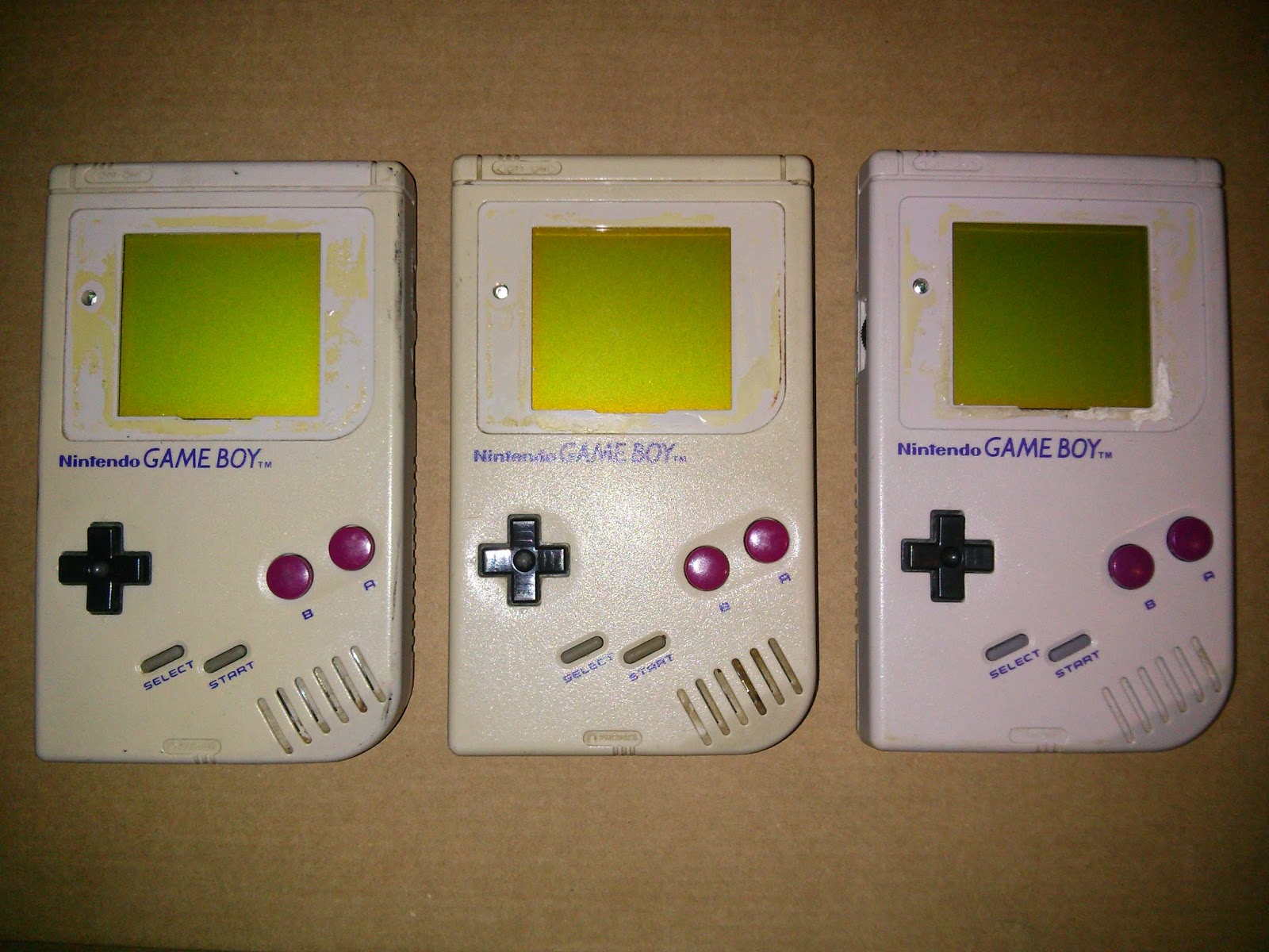 Arreglando consolas clasicas game boy advance sp - Consolas clasicas ...