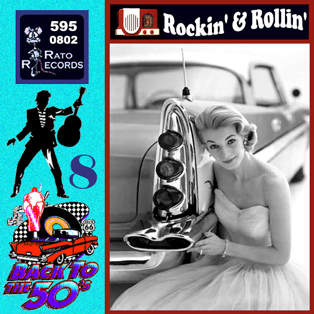 Cd collection Back To The 50's - Rockin' & Rollin' 8 Front08