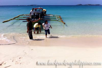 boat rental calaguas island