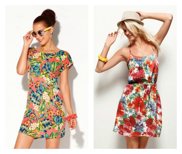 vestidos flores verano