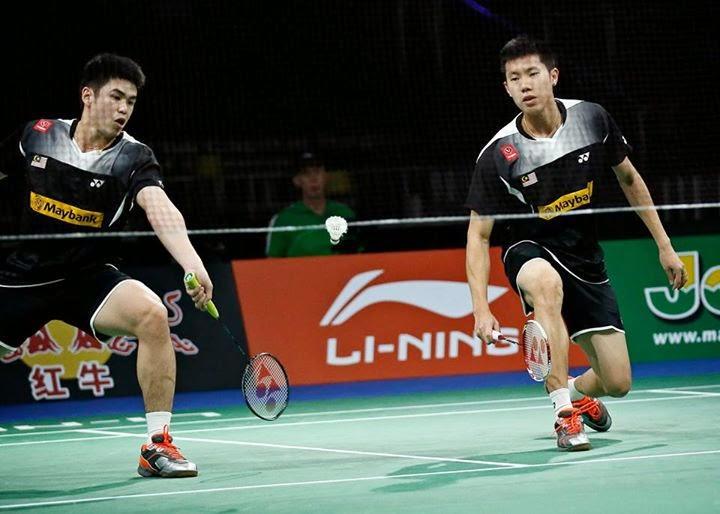 Kecederaan Belakang Paksa Goh Dan Lim Tarik Diri Kejohanan Badminton Dunia