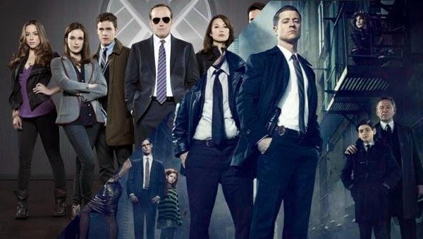 Novedades Gotham y Agentes de S.H.I.E.L.D.