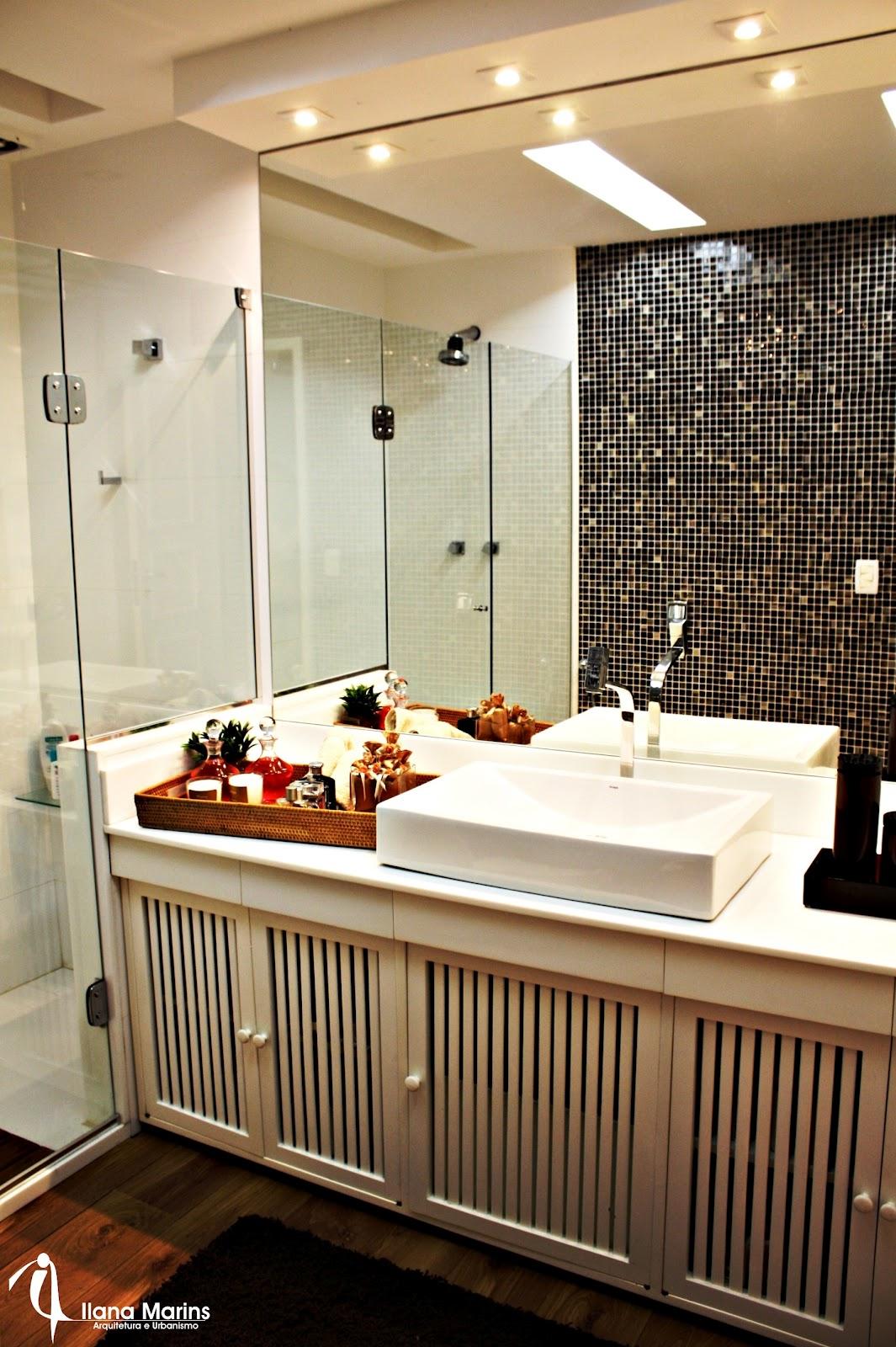 ideias para o lavabo Denise Reds #B72F14 1065x1600 Banheiro Com Bancada Branca