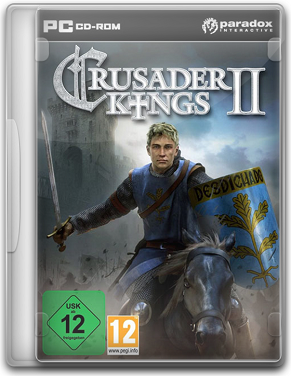 Capa Crusader Kings II   PC (Completo) 2012 + Crack