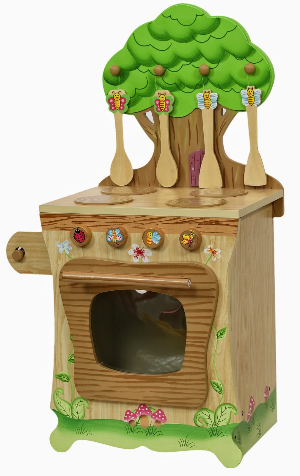 Teamson Enchanted Forest Play Kitchen Cooker