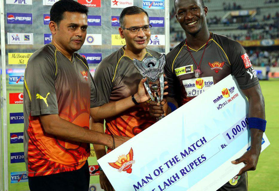 Darren-Sammy-man-of-the-match-SRH-vs-DD-IPL-2013