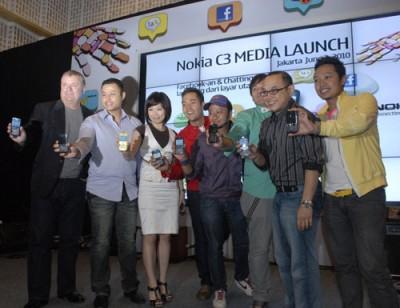 Nokia C3 Meluncur, Banderol Rp 1.159.999,-