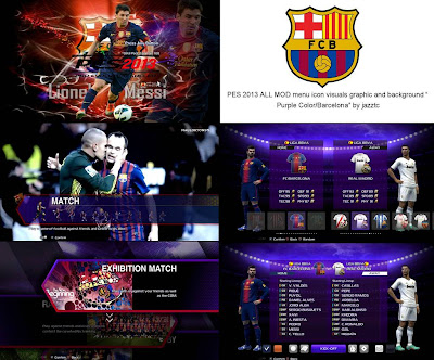 All Mods Graphic FC Barcelona PES 2013
