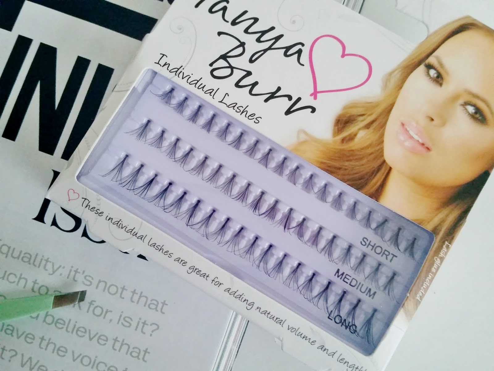 Individual False Lashes by Tanya Burr