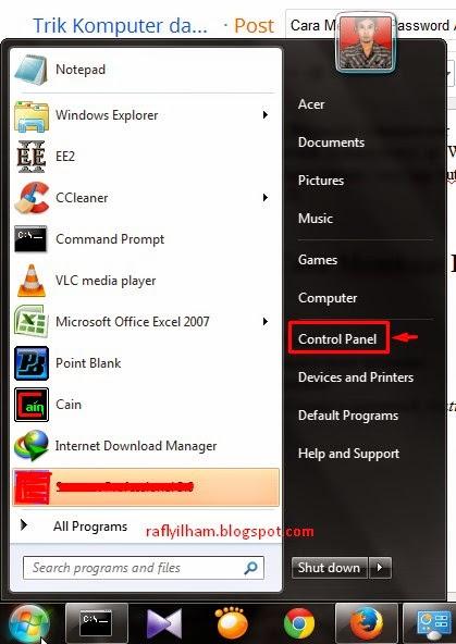 Cara Membuat Password Administrator di Windows 7