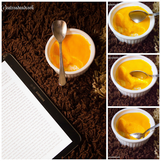 How to make mango custard