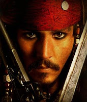 Piratas do Caribe - Jack Sparrow