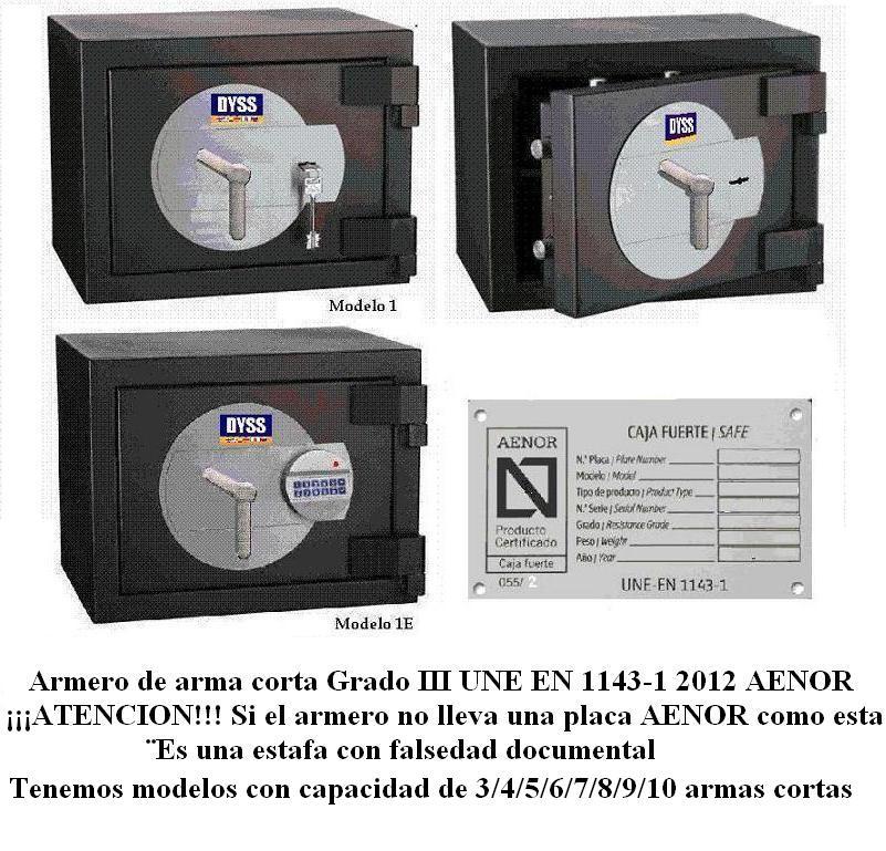 ARMERO DE ARMA CORTA 1143-1