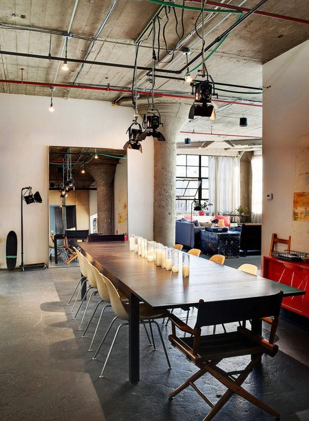 Le kg room un loft new yorkais indus - Loft new yorkais ...