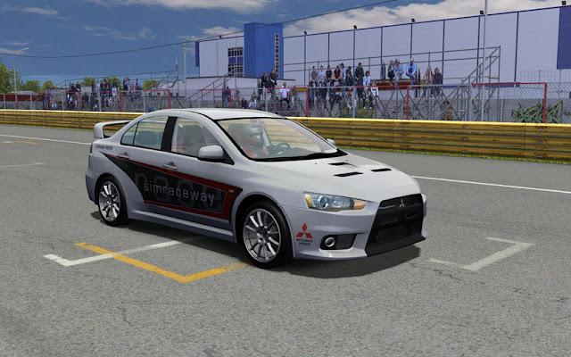 rFactor Mitsubishi evox SandroX