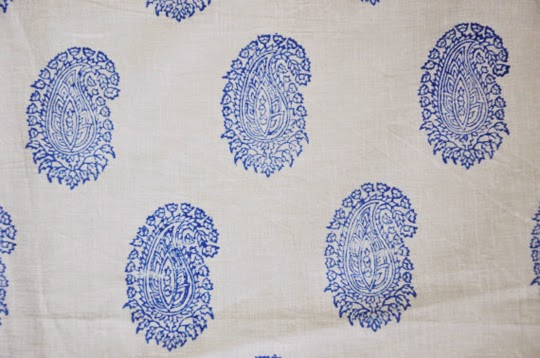 block printed cotton