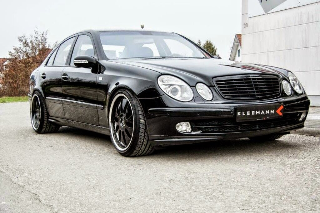2002 mercedes benz w211 e500 by kleemann domanig benztuning. Black Bedroom Furniture Sets. Home Design Ideas