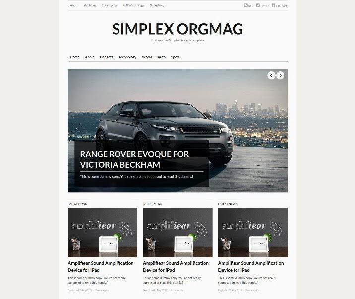Simplex Orgmag