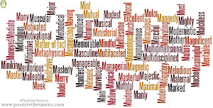 Positive Thesaurus - Positive words for you: Positive adjectives ...