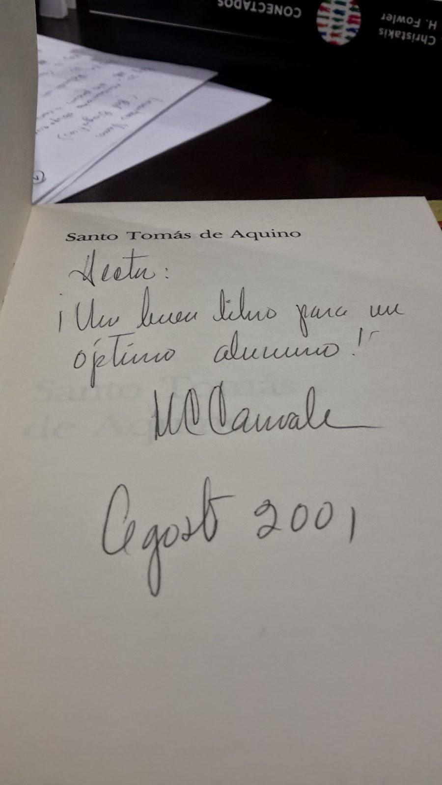 Firma de Concepción Márquez de Carnevale