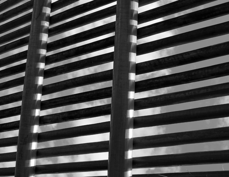 Wooden Slats - Texture Photograph