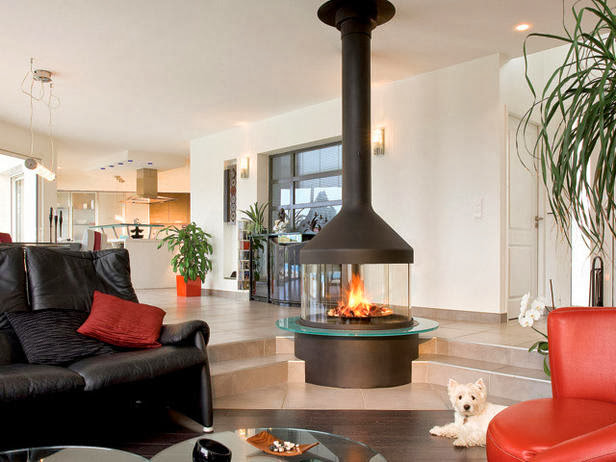 Modern Furniture New 2014 Cozy Fireplaces To Warm Up Your Living Room