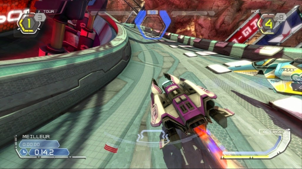 Little HIVE Games: Game Experience - Wipeout HD Fury