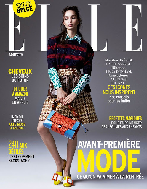 Model @ Luma Grothe by Ben Morris for Elle Belgium, August 2015