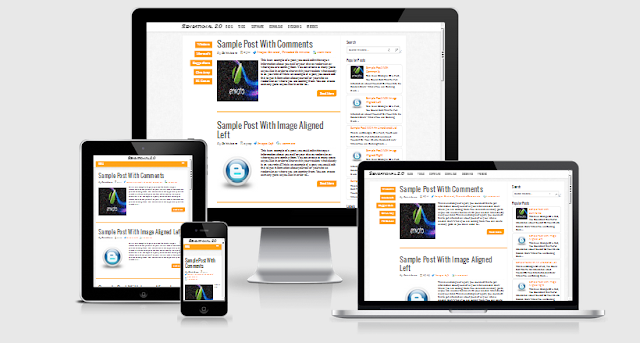 Sensational 2 Responsive Blogger Template