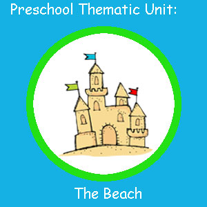 Photo Preschool Beach Thematic Unit, Beach Book Adventures, http://www.teacherspayteachers.com/Product/Beach-Thematic-Unit#