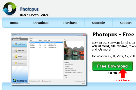 download photopus freeware
