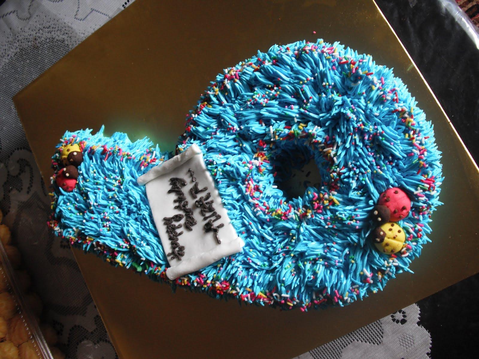 Farra Delight Mber 6 Birthday Cake