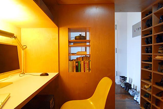 Kombiniert mit Designklassiker wie Eames Chair kommt Flair in kleine Wohnung!