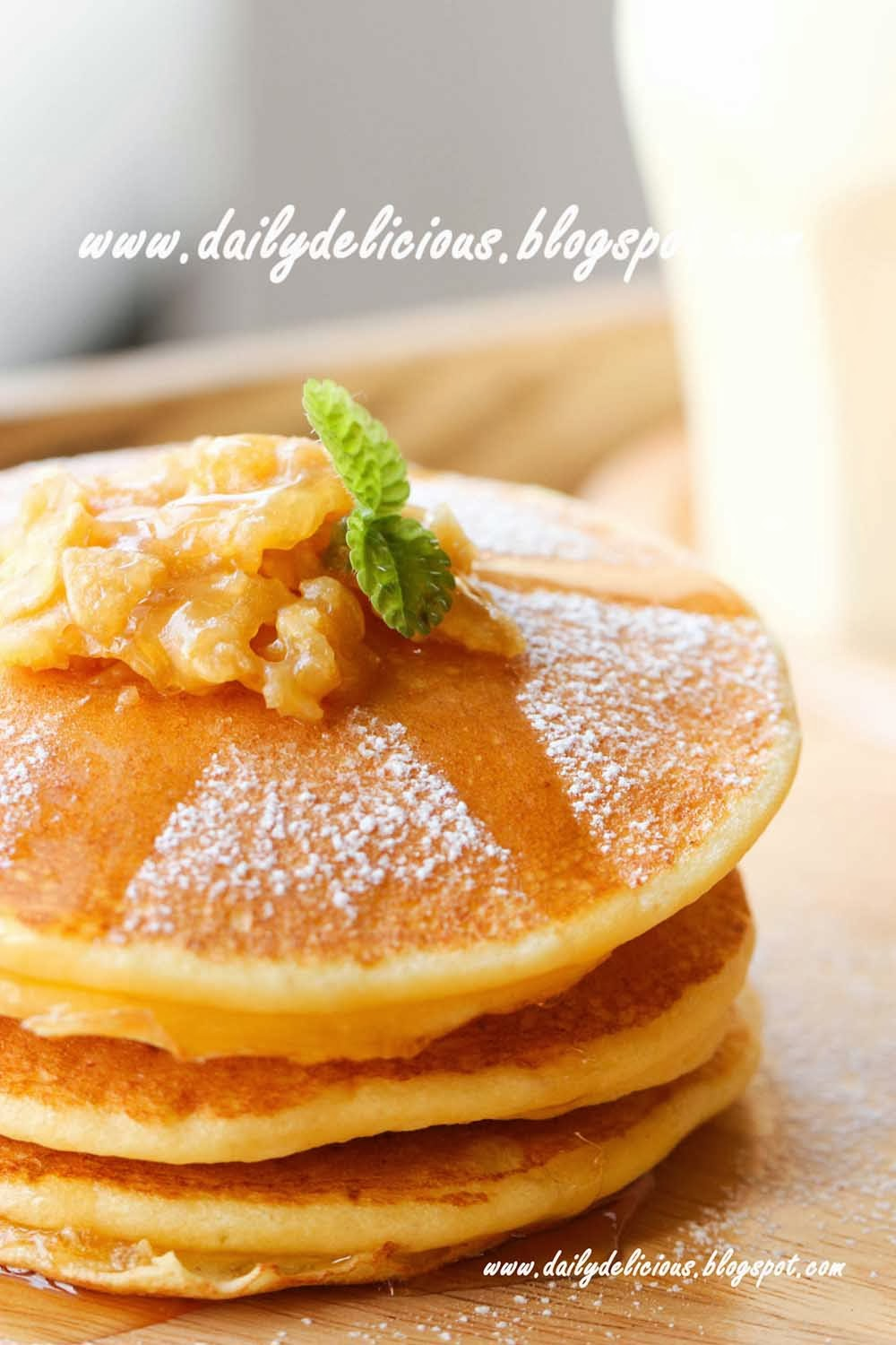 Morning with my boyfriend: Fluffy Cottage cheese pancake (ふわっふ ...