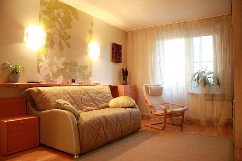 Простой дизайн гостиной комнаты в хрущевке своими руками.