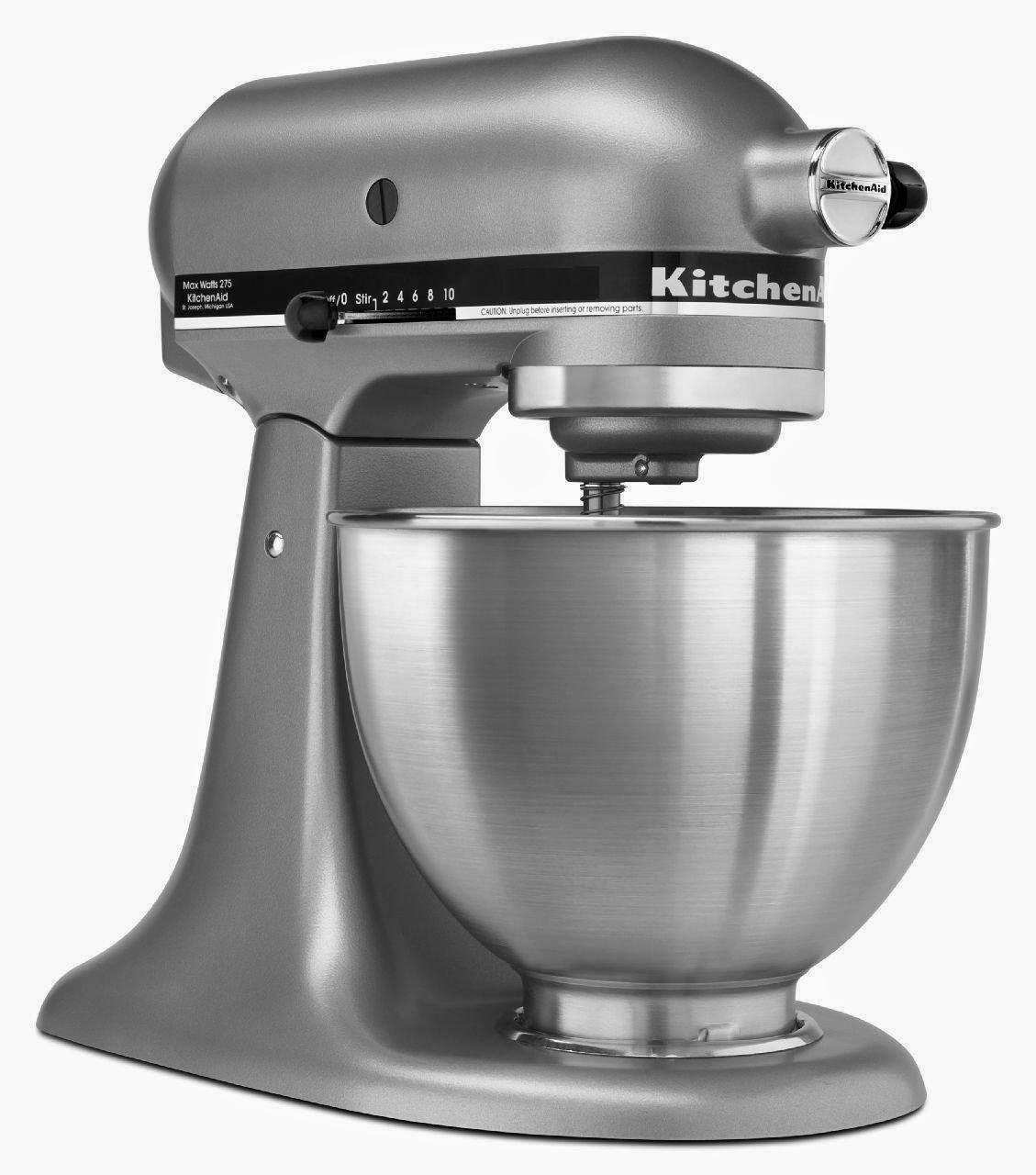 Home, Garden & More...: KitchenAid K45SSWH K45SS Classic 4.5 Quart ...