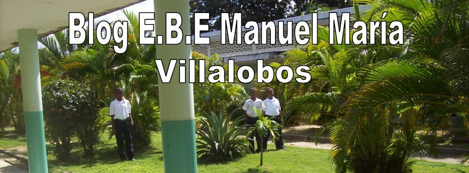 """E.B.E """"MANUEL MARÍA VILLALOBOS"""""""